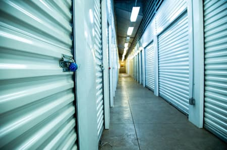 Aurora self storage interior units