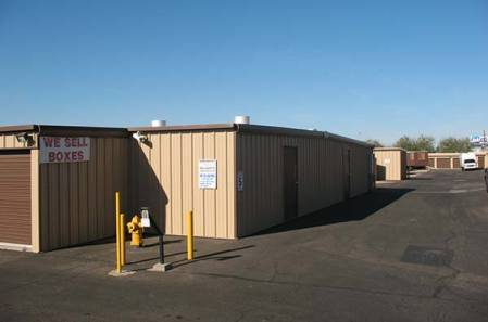 Exterior for self storage units in Apache Junction