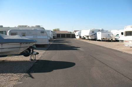Boat Storage at StorQuest Self Storage in Apache Junction, AZ
