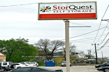 Our sign at StorQuest Self Storage