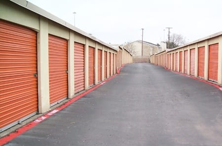 Storage units at Fort Worth, TX