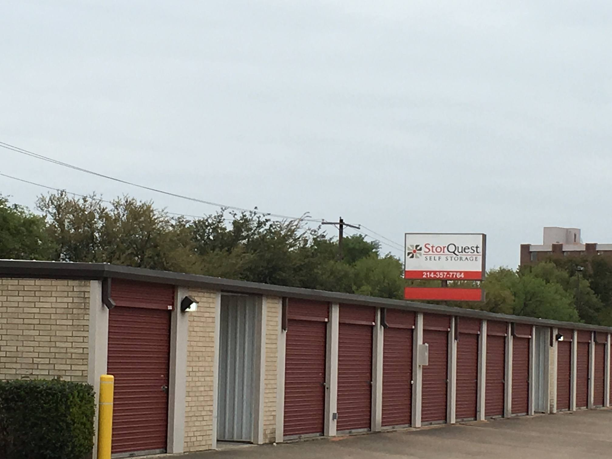 Dallas self storage open unit