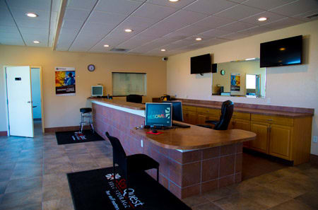 Leasing Office at StorQuest Self Storage in Aurora, CO
