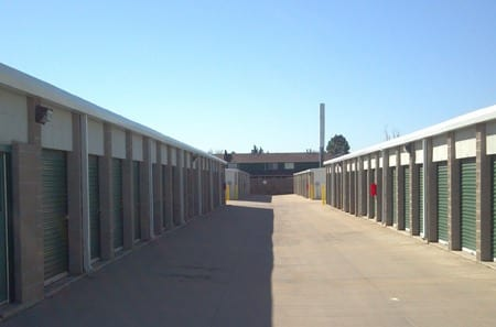 Aurora self storage units