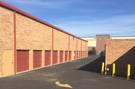 Storage units at StorQuest Self Storage in