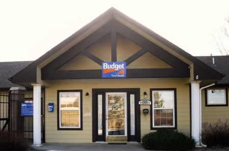Self storage building office in Louisville