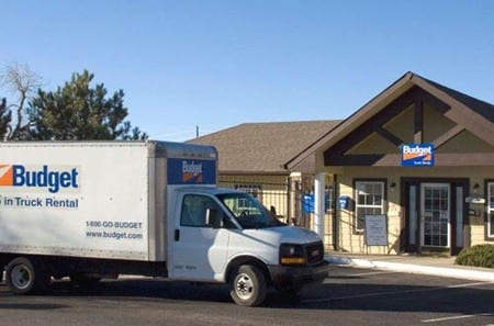 Louisville self storage moving truck