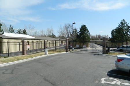 Exterior units for self storage in Louisville