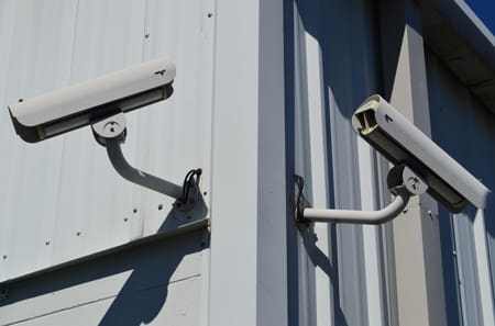 Security cameras installed at self storage units in Gainesville