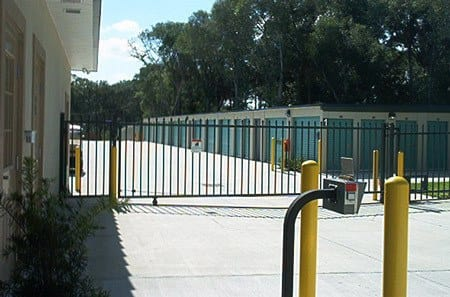 Gated self storage facility in Edgewater