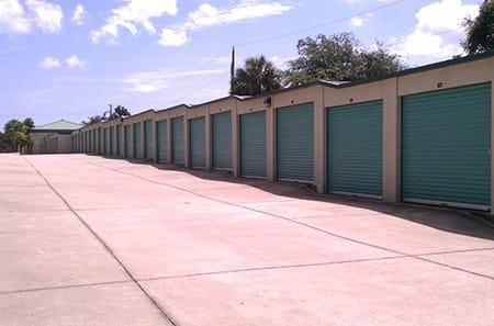 Edgewater self storage units