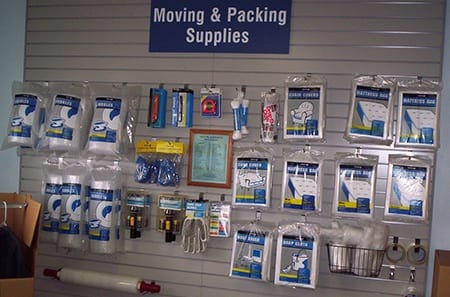 Orlando packing and moving supplies for self storage