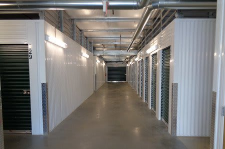 Interior hallway for self storage units in Tallahassee