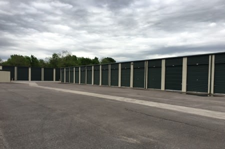 Storage units at StorQuest Self Storage in Richmond