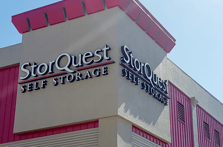 Exterior view of our new StorQuest Self Storage facility in Waipahu!