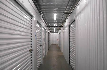 Waipahu self storage units interior hallway