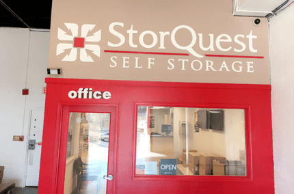 Front office at StorQuest Self Storage in Arlington, VA