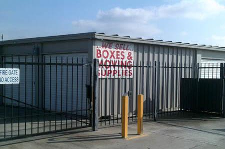 Self storage building exterior in Ripon