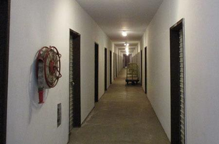 Indoor storage units at StorQuest Self Storage