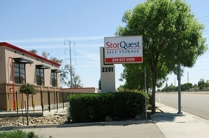 Street view of StorQuest Self Storage in Ceres, CA
