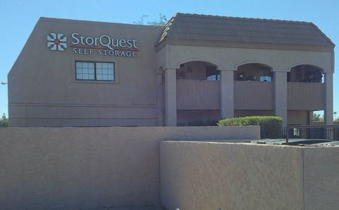 Main gate at StorQuest Self Storage