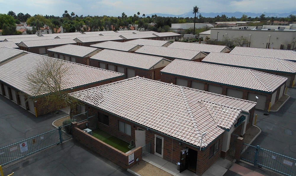 Roof Tops At StorQuest Self Storage