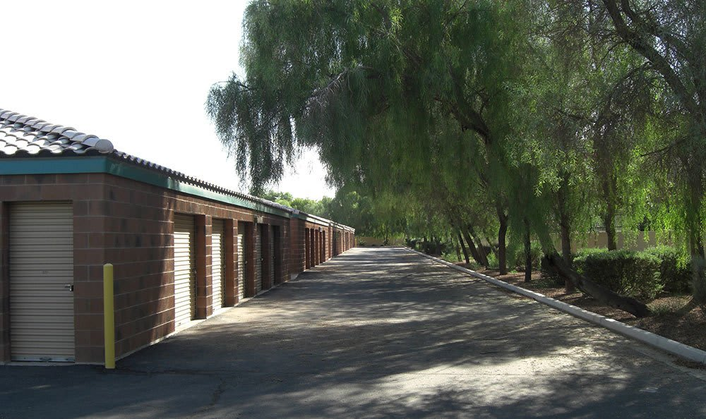 Self storage building exterior in Tempe