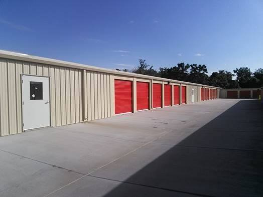Exterior View Of Self Storage Units At StorQuest Self Storage