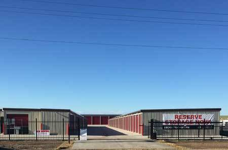 Gated entrance at StorQuest Self Storage in Watford City, ND
