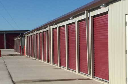 Facility exterior at StorQuest Self Storage