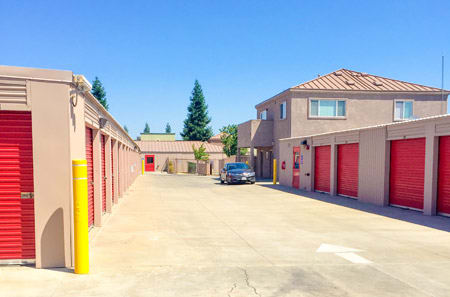 Secure Units at StorQuest Self Storage in Stockton, CA