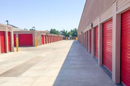 Outdoor Units at StorQuest Self Storage in Stockton, CA