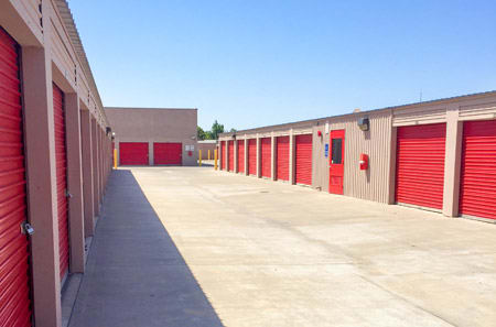 Secure Outdoor Units at StorQuest Self Storage in Stockton, CA