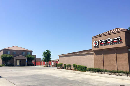 Entrance at StorQuest Self Storage in Stockton, CA