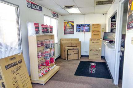 Storage Supplies at StorQuest Self Storage