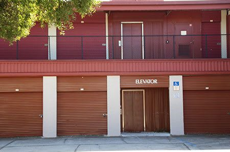 Our self storage facility provides an elevator to make your experience easier