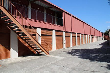 Our tampa self storage facility features two levels of units