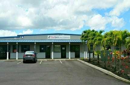 Self storage building exterior Kea'au
