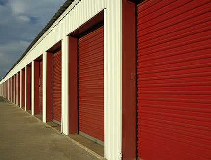 Secure self storage unit doors in Queen Creek