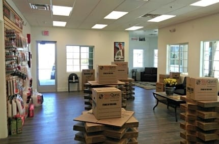 We sell boxes and packing supplies at StorQuest Self Storage in Queen Creek