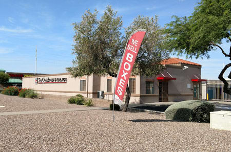 View of StorQuest Self Storage in Tucson, AZ