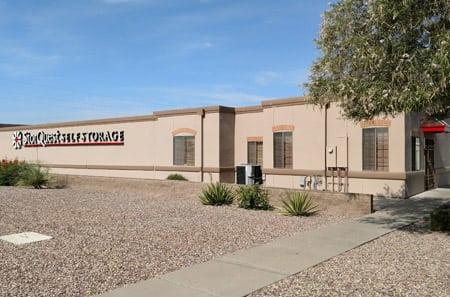 Exterior view of StorQuest Self Storage in Tucson, AZ