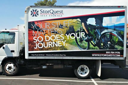Free Truck at StorQuest Self Storage in Port Chester