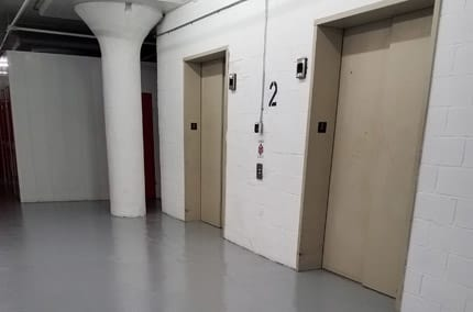 Interior view of units at StorQuest Self Storage