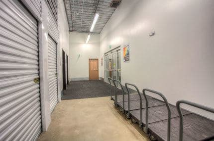 A view of our interior storage units at StorQuest Self Storage in Denver, CO