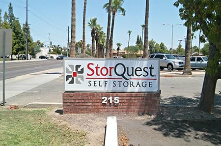 Sign for StorQuest Self Storage