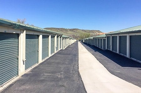 A view of our self storage facility in Golden, CO