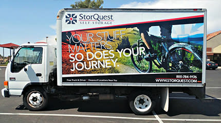 Free truck and driver at at StorQuest Self Storage in Westbury, NY