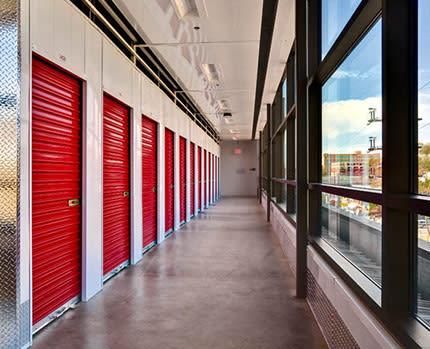 Sizes and prices of Westbury self storage units