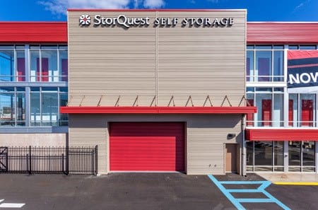 Exterior of the Facility at StorQuest Self Storage in NY